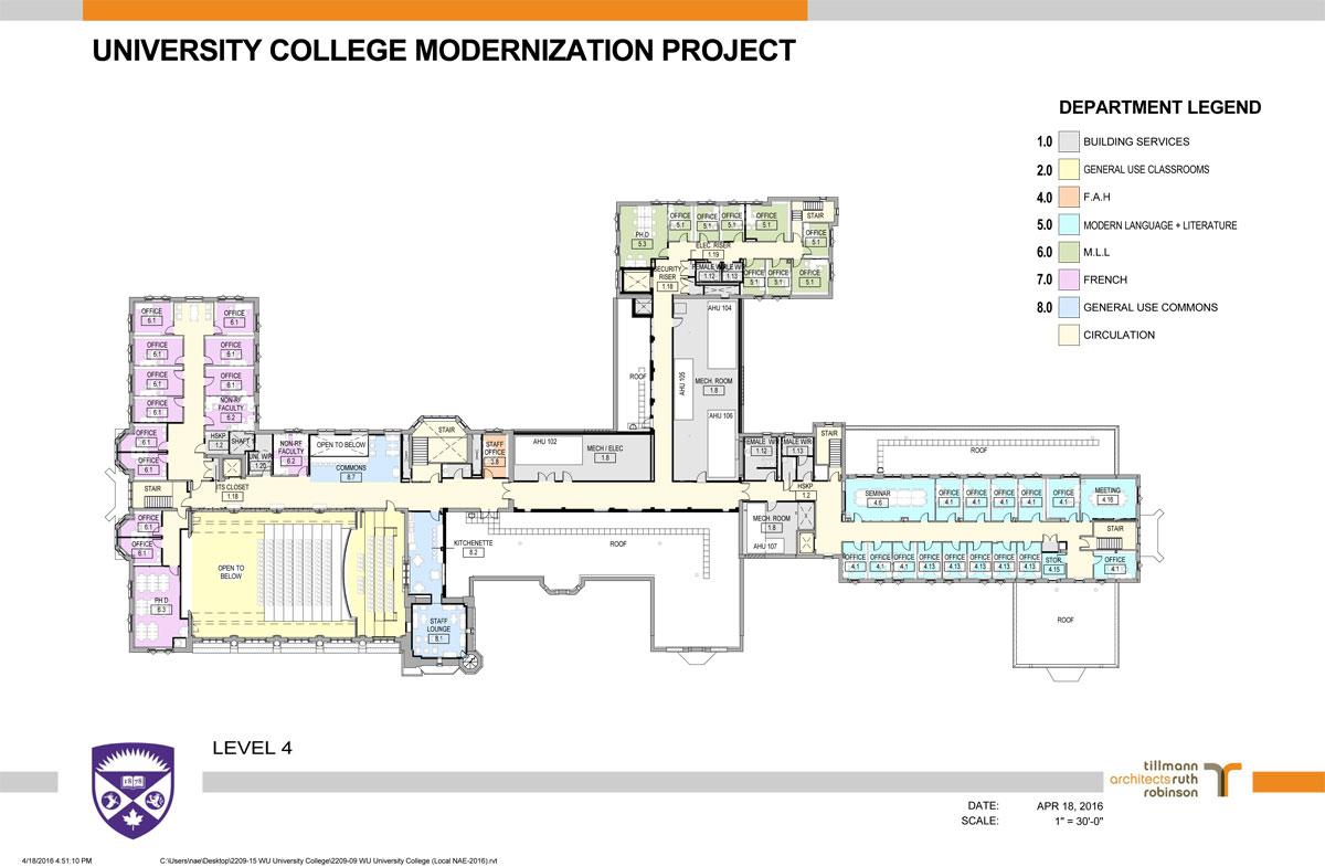Arts And Humanities Building Uwo Floor Plan