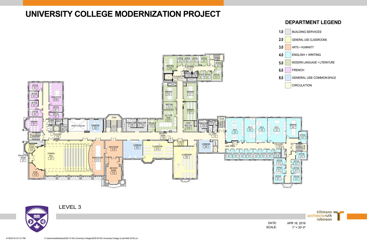 University College Renovations Faculty Of Arts And Humanities Western University
