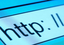 Close up of a browser address bar