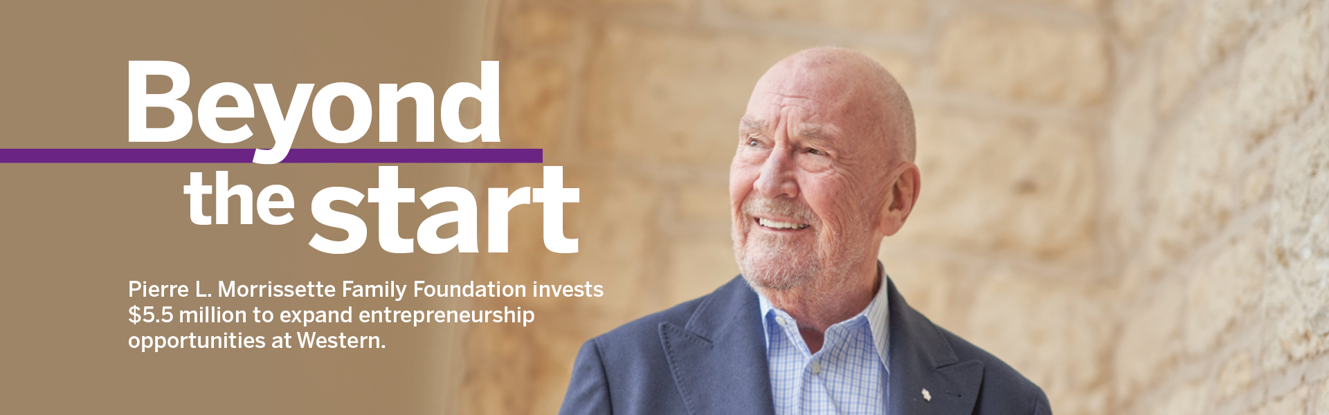 Pierre L. Morrissette Family Foundation invests $5.5 million to expand entrepreneurship opportunities at Western