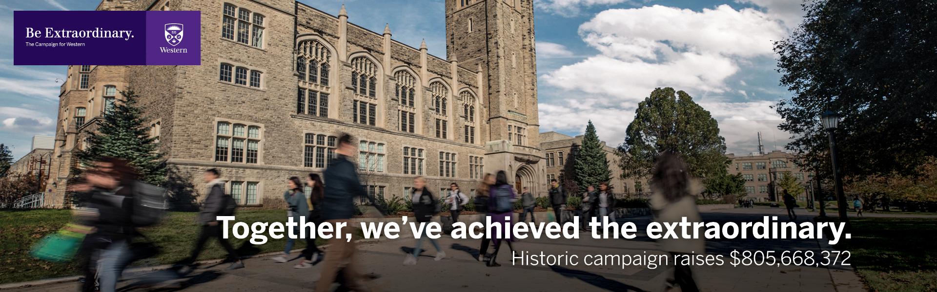 Historic Campaign Raises