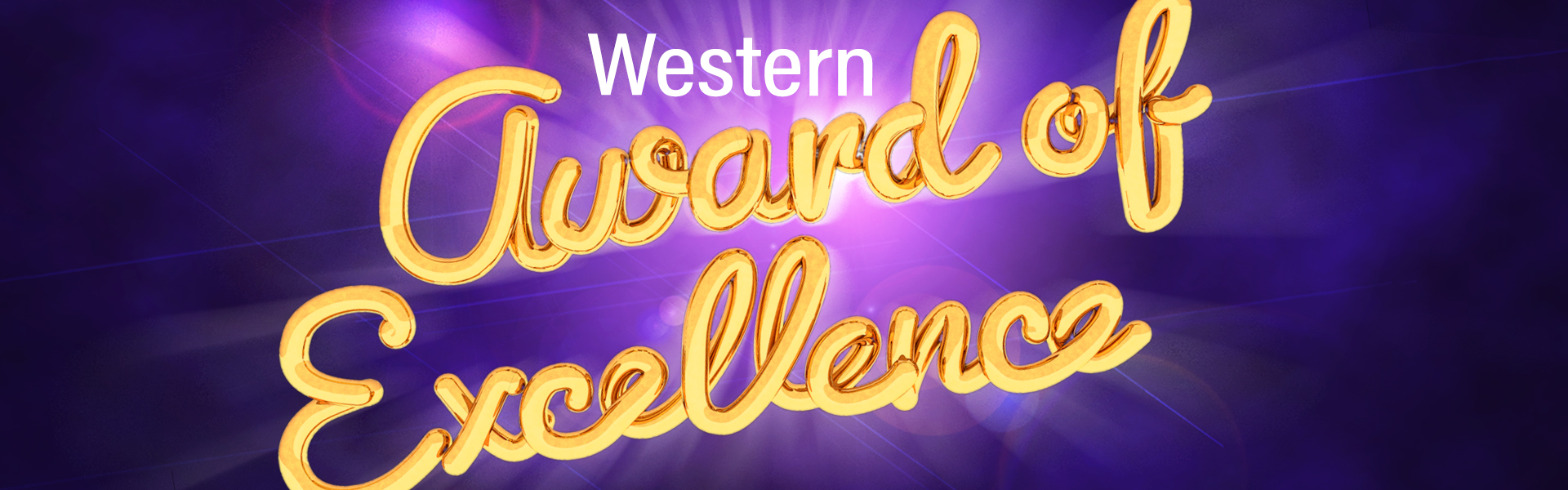 Western Award of Excellence