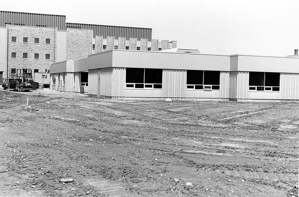 Wind Tunnel Construction, June 1983