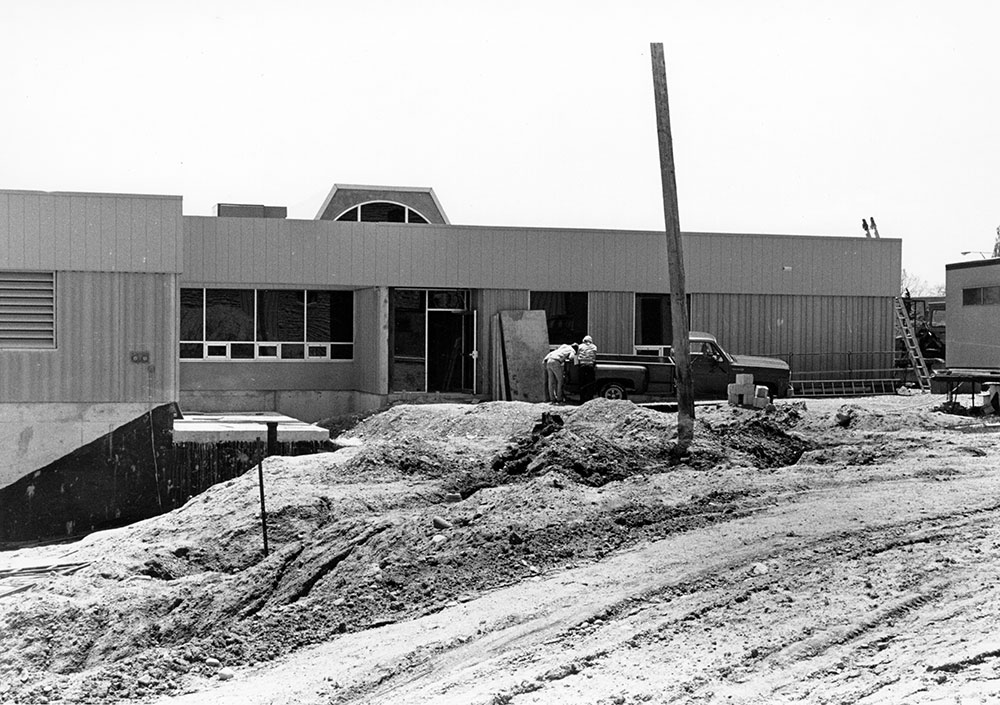 Wind Tunnel Construction, June 1987