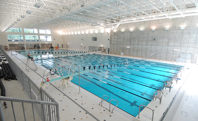 Facilities sport western western university for Swimming pools in london ontario