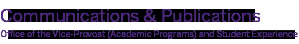 Student Services Publications